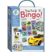 Things that Go Building Blocks Bingo