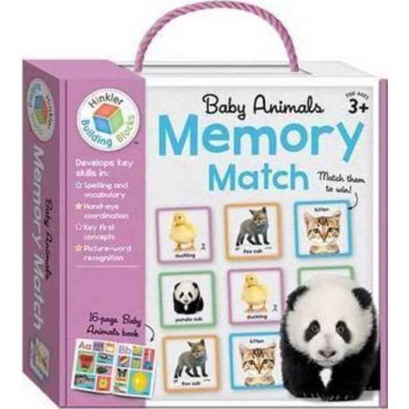Baby Animals Building Blocks Memory Match