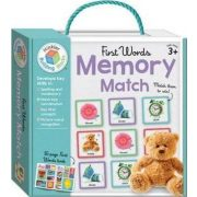 First Words Building Blocks Memory Match