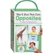Building Blocks Slide & Learn Flashcards Opposites
