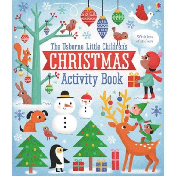 Little children's Christmas activity book