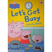 Peppa Pig: Let's Get Busy Activity Book