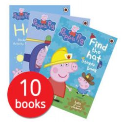 Peppa Pig Activity Book Collection - 10 Books