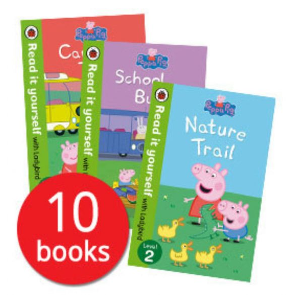 Ladybird Read It Yourself: Peppa Pig Story Collection - 10 Books