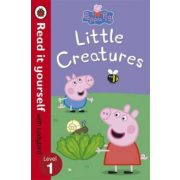Peppa Pig: Little Creatures - Read it Yourself with Ladybird