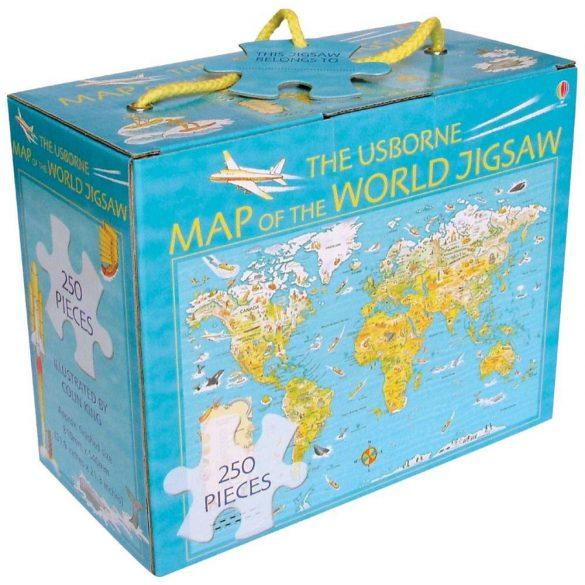 Map of the world jigsaw