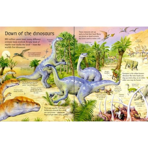 See inside the world of dinosaurs