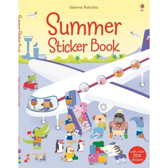 Summer sticker book