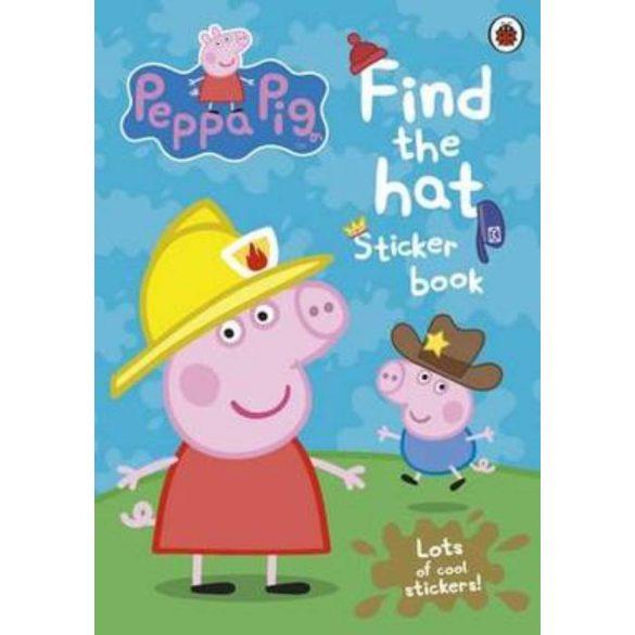 Peppa Pig: Find-the-hat Sticker Book