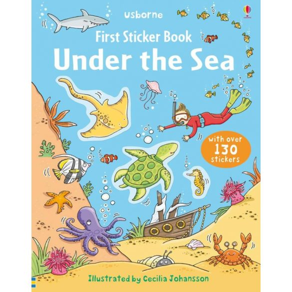 First Sticker Book Under The Sea