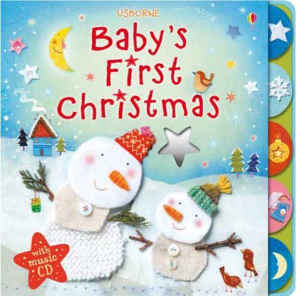 Baby's first Christmas with music CD