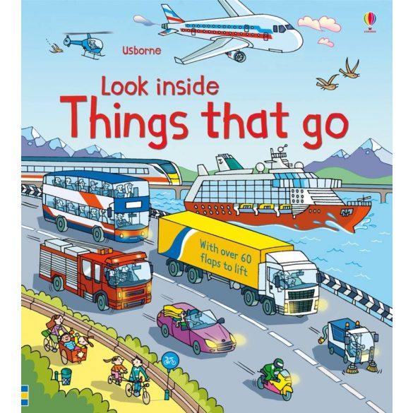 Look inside things that go
