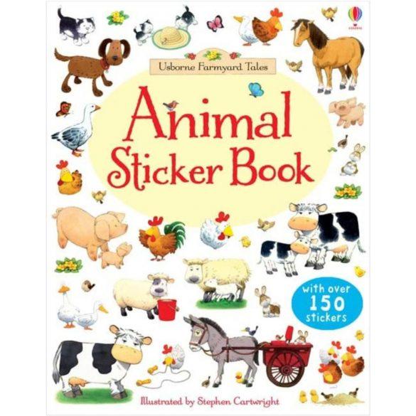 Farmyard Tales animals sticker book