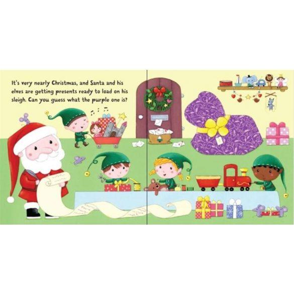 Santa Flap Book
