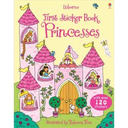 First sticker book - Princesses