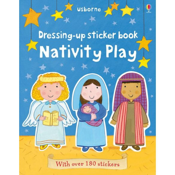 Dressing up sticker book: Nativity play