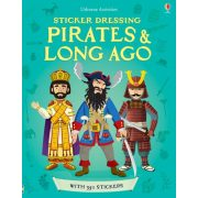 Sticker dressing pirates and long ago