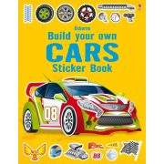 Build Your Own Cars Sticker Book