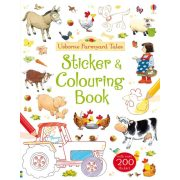 Farmyard Tales Sticker & Colouring Book
