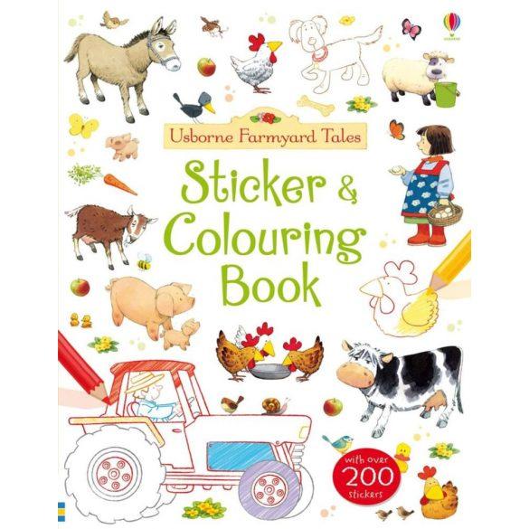 Farmyard Tales Sticker & Colouring Book