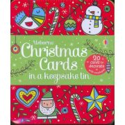 Christmas Cards to Decorate in a Keepsake Tin