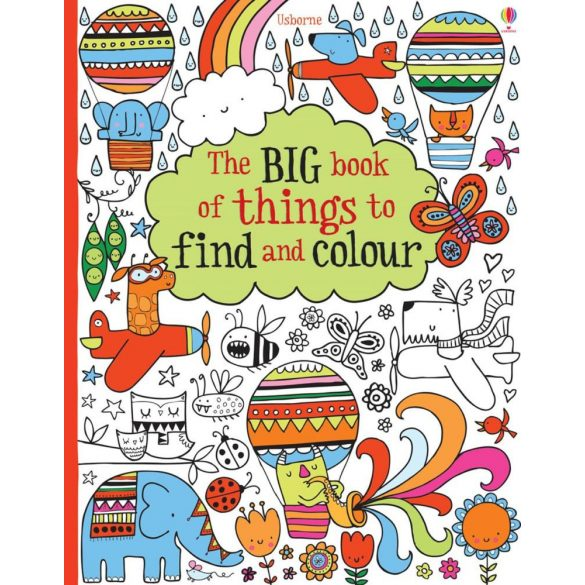 The Big Book of Things to Find and Colour