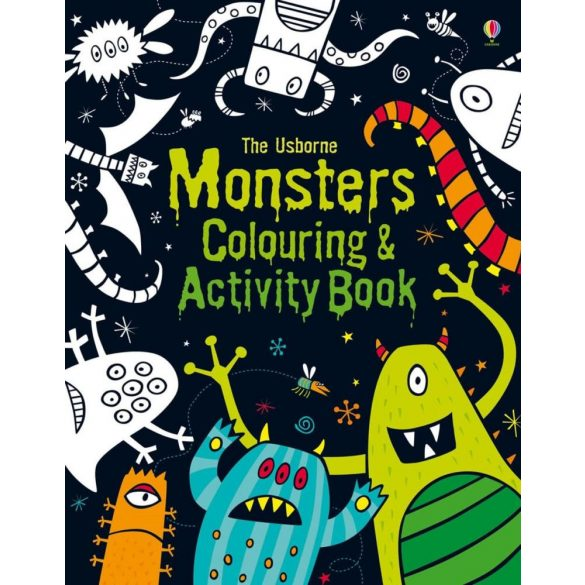 Monsters Colouring and Activity Book