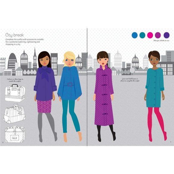 Fashion designer autumn collection