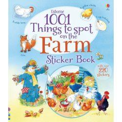 1001 Things to Spot Sticker Book Farm