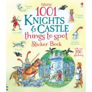 1001 knights and castle things to spot sticker book