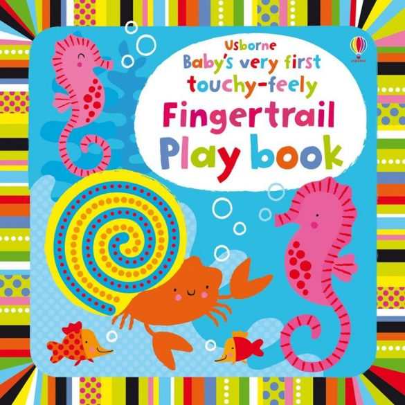Baby's Very First Touchy-Feely Fingertrail Play Book