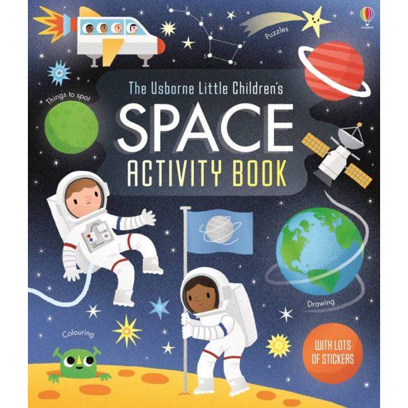 Little children's space activity book