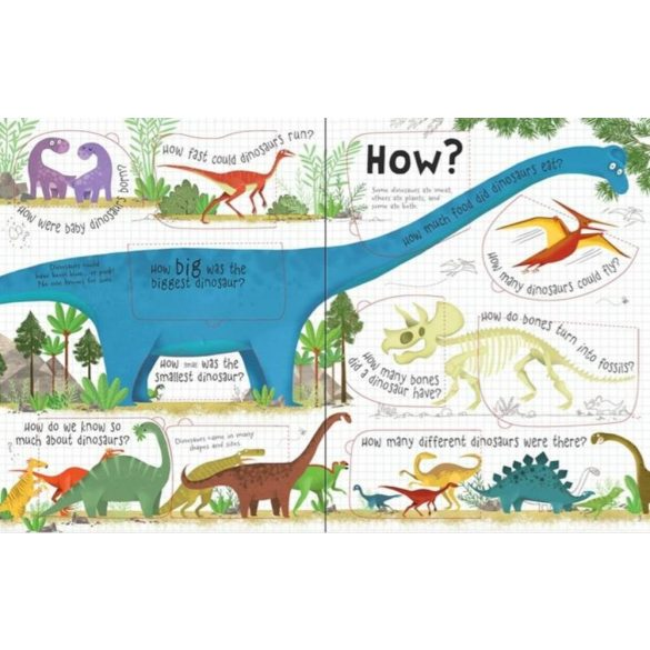 Lift the flap Questions and Answers about Dinosaurus