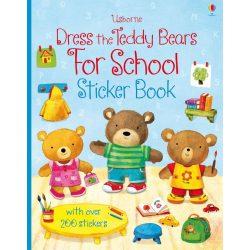 Dress The Teddy Bears For school Sticker Book