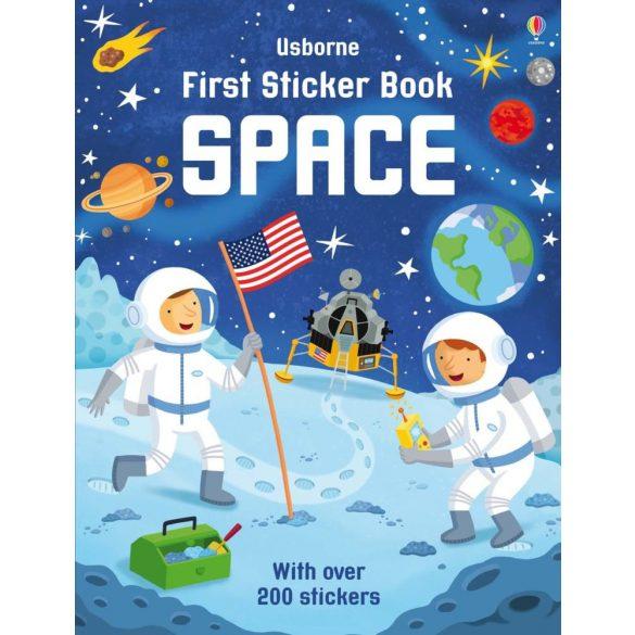 First Sticker Books Space