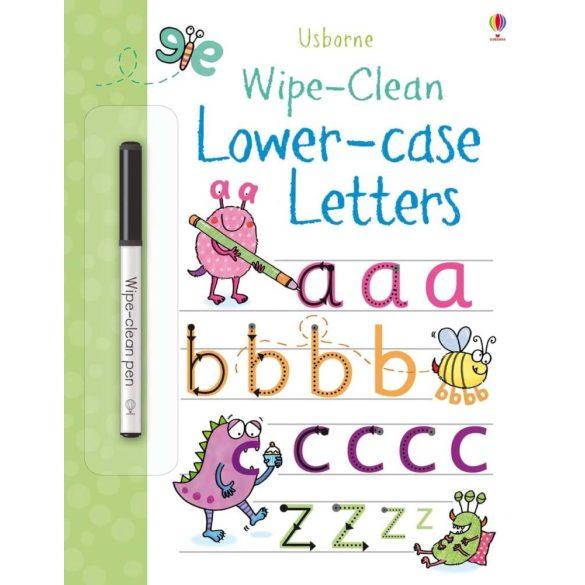 Wipe-Clean Lower-Case Letters