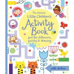 Little Children's Activity Book - Spot the Difference, Puzzles and Drawing