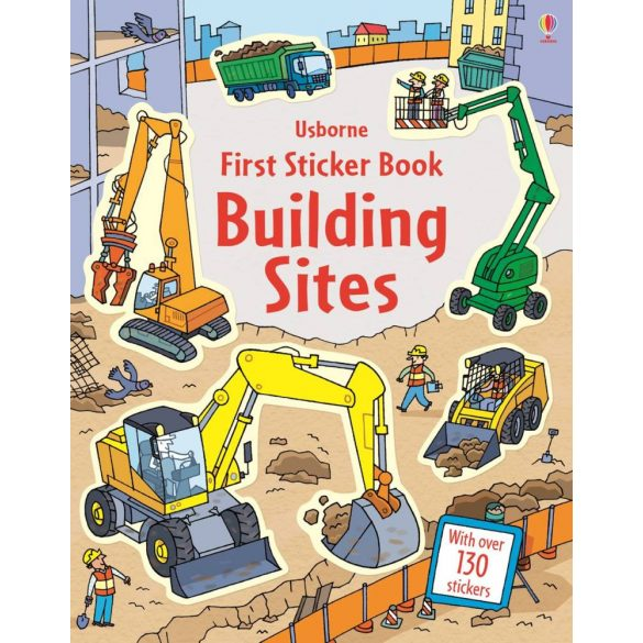 First Sticker Books Building Sites