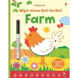 Wipe-clean dot-to-dot farm