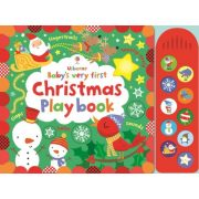 Baby's very first touchy-feely Christmas play book