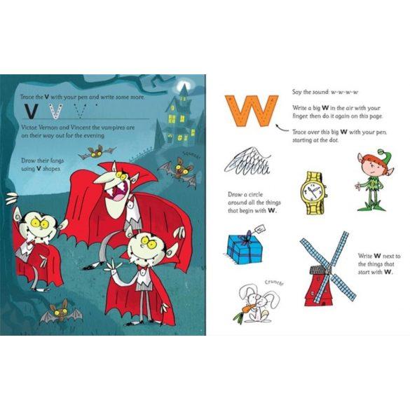 Wipe-clean phonics book 4