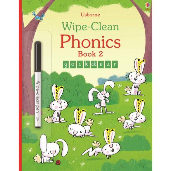 Wipe-Clean Phonics Book 2