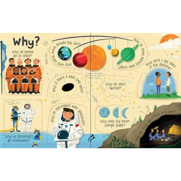 Lift-the-Flap Questions and Answers about Space