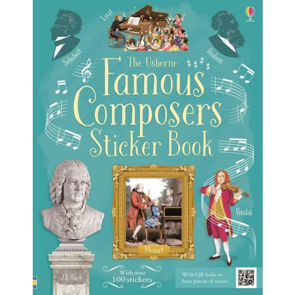 Famous Composers Sticker Book