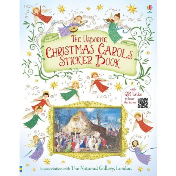 Christmas Carols Sticker Book