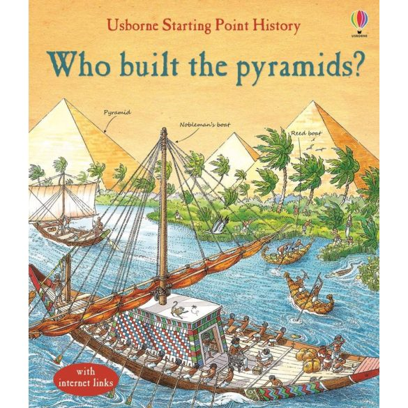 Who built the pyramids?