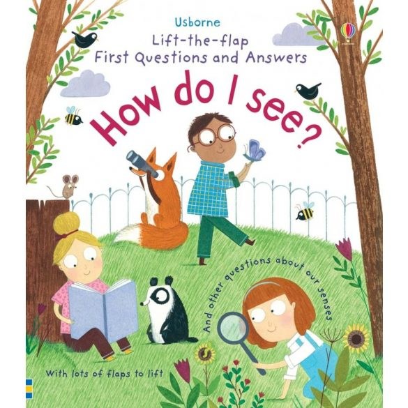Lift-the-flap First Questions and Answers How do I See?