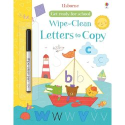 Wipe-Clean Letters To Copy