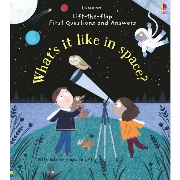 Lift-the-flap First Questions and Answers - What's it like in space?