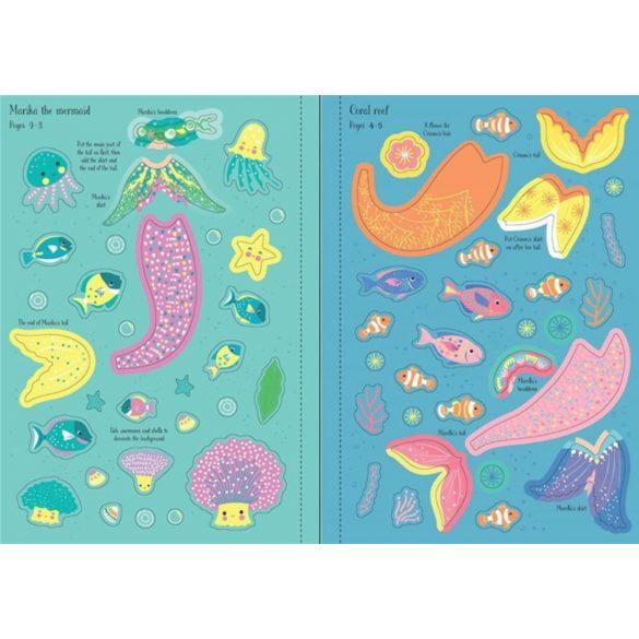 Little sticker dolly dressing - Mermaid